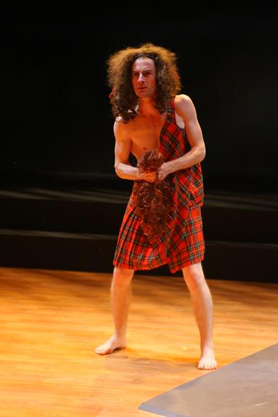 "A ferocious Scottish ancestor (""Tulips"")Patrick Alparone; photo credit: Clayton Lord"