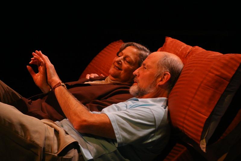 "Olive Kitteridge and Jack Kennison (""River"")Patricia Silver,Warren David Keith; photo credit: Clayton Lord."