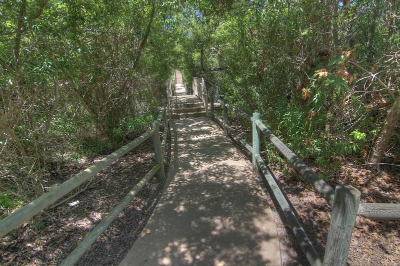 Sun Vista Park bridge over creek in Olivenhain a community in Encinitas Ca