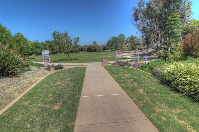 Sun Vista Park expansive lawn in Olivenhain a community in Encinitas Ca