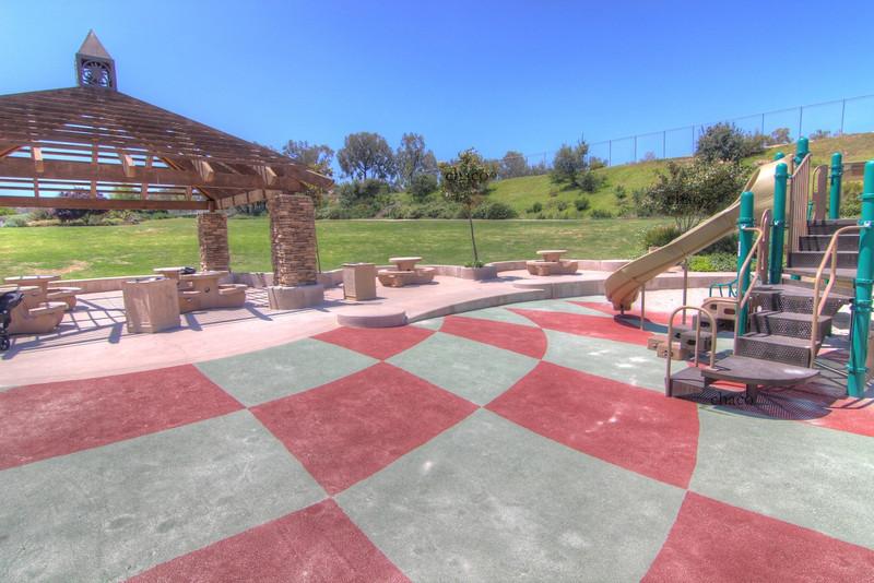 Sun Vista Park nerf turf playground in Olivenhain a community in Encinitas Ca