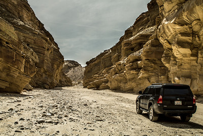 Exploring Fish Wash Creek out in Anza Borrego State Park near Ocotillo Wells.