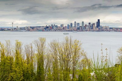 Seattle From the West