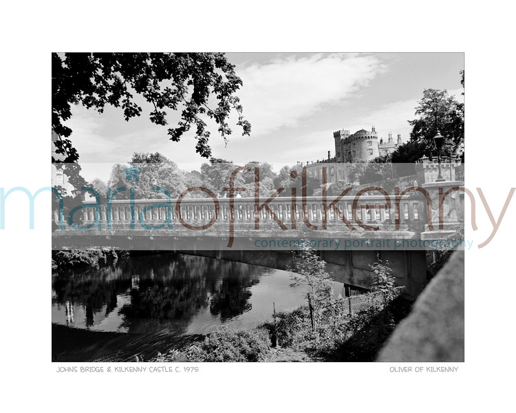John's Bridge Kilkenny Castle Circa 1975