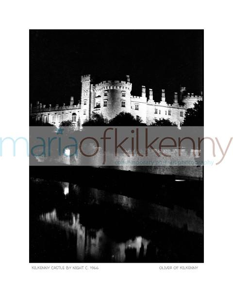 Kilkenny Castle by Night Circa 1966
