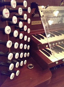 The old organ had served them well but service had become problematic with parts availability
