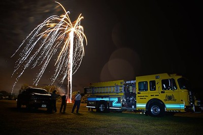Haddam Volunteer Fire Company provided support during the Haddam River Days fireworks show Sept. 12, 2015 at Haddam Meadows State Park. Haddam firefighters were on standby with Engine 3 and Utility Truck 7.