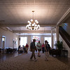 Guests file into the Athenaeum Hotel for the CPOA's Pre-Season Potluck on Wednesday, June 21, 2017. The potluck featured a welcoming by Michael E. Hill, Chautauqua Institution's 18th president. OLIVIA SUN/STAFF PHOTOGRAPHER