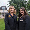 Kate Lindstrom, front desk supervisor of the Athenaeum Hotel, and Stacey Utegg, reservations supervisor, on Friday, June 23, 2017. OLIVIA SUN/STAFF PHOTOGRAPHER