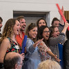 Student artists sing for opera guild members on Sunday, June 25, at the Jane A. Gross Opera Center. The Adopt-An-Artist picnic consisted of guild members 'adopting' mentees for the summer. OLIVIA SUN/STAFF PHOTOGRAPHER