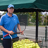 James Getty, director of the Tennis Center, on Monday, June 19, 2017. Getty is from Erie, PA. OLIVIA SUN/STAFF PHOTOGRAPHER