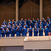 The Chautauqua Choir perform at the Sacred Song Service on Sunday, June 25, at the Amphitheater. OLIVIA SUN/STAFF PHOTOGRAPHER