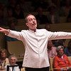 Rossen Milanov conducts the Chautauqua Symphony Orchestra during their concert Thursday, Jun. 29, 2017, at the Amphitheater. OLIVIA SUN/STAFF PHOTOGRAPHER