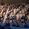 Audience members at the Sacred Song Service on Sunday, June 25, at the Amphitheater. OLIVIA SUN/STAFF PHOTOGRAPHER