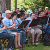 Clarinetists play at the 27th Chautauqua Community Band concert Tuesday, Jul. 4, on Bestor Plaza. OLIVIA SUN/STAFF PHOTOGRAPHER