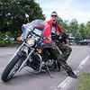 Gediminas Juknius poses with his motorcycle on Wed, Jun. 28, 2017. OLIVIA SUN/STAFF PHOTOGRAPHER