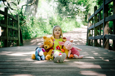 Olivia at Hundred Acre Wood