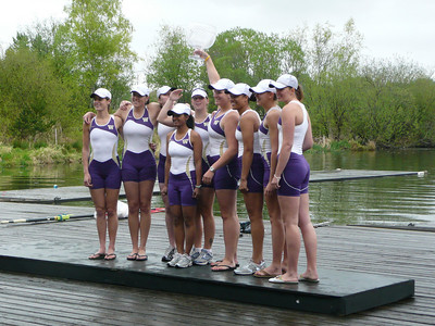 Kelly and her fellow rowers won the Cup