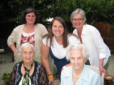 Bridget, Kelly, Becky, Norma and Rita