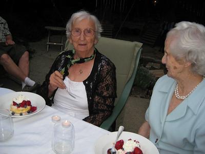 Norma's Strawberry shortcake birthday cake.