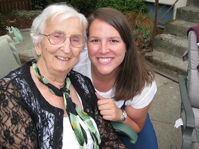 Kelly & Her Grandma Norma