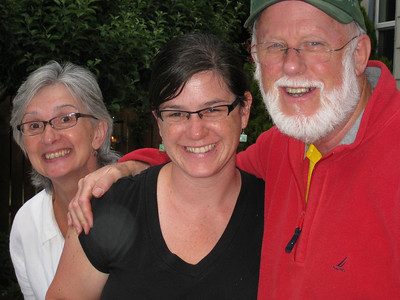 Molly with her Mom & Dad