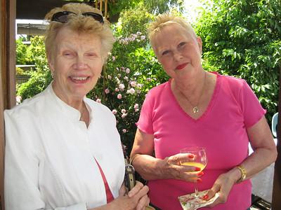 Aletha and Sheryl.