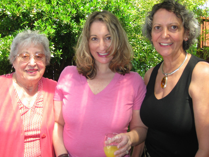 Grandma Carm, Tina and Mom Louise