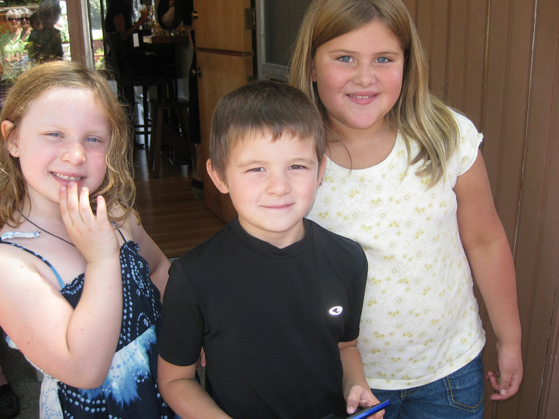 Freya, Christian and Carmen