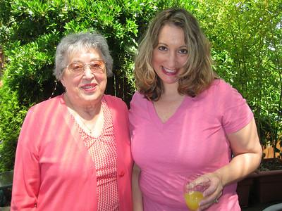 Tina and her Grandma Carm