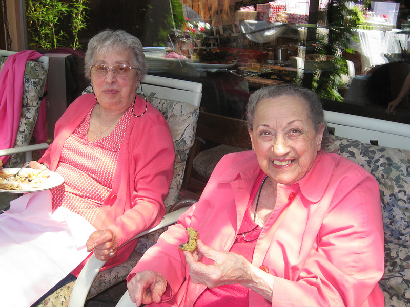 Grandma Carm and Auntie Elvera