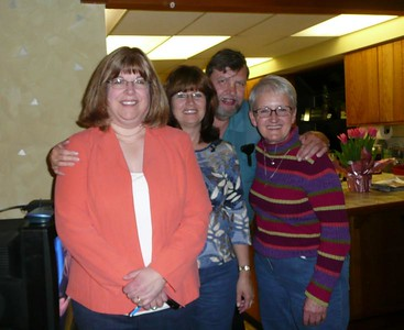 Lynn, Lori, Rick and Linda