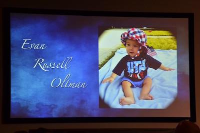 Oltman Baptism - 2015