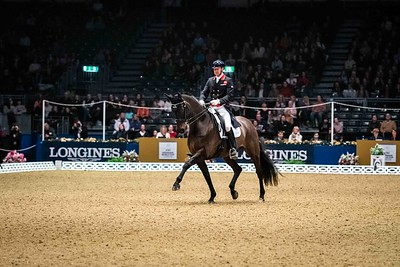 FEI DRESSAGE WORLD CUP™ GRAND PRIX Olympia - The London International Horse Show Olympia, London, United Kingdom, GBR 16/12/19 - MANDARTORY Credit Sophie Harris/ SEH Photography  - NO UNAUTHERORISED USE - 07825091348