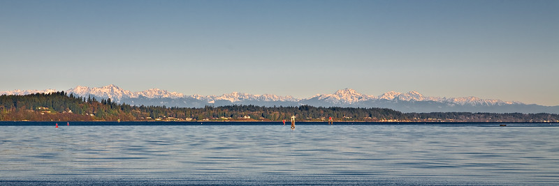 The Olympic Mountains