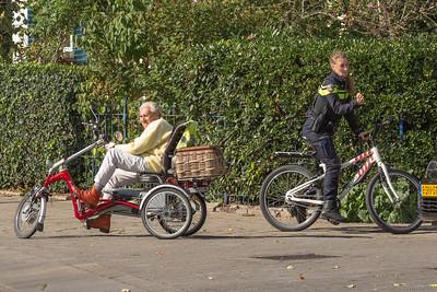 Overal fietsen...