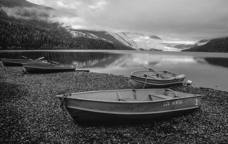 Rowboats, Lake Crescent