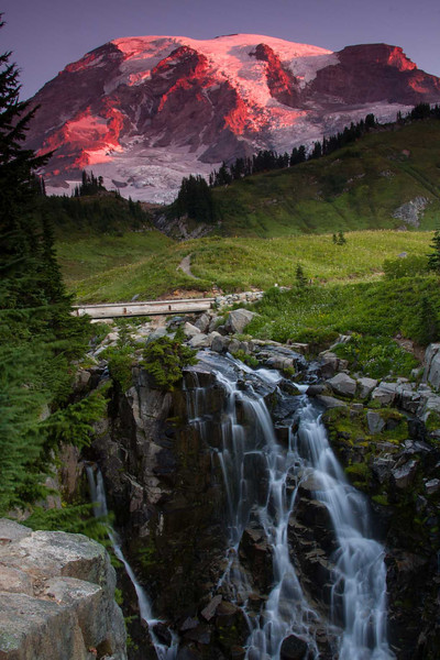 Myrtle Falls - Mt Rainier National Park, Washington - Andrew Ehrlich - September 2008