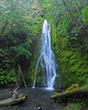 Madison Falls Panoramic - 3 horizontal images stacked - Olympic National Park - Doug Beezley - July 2008
