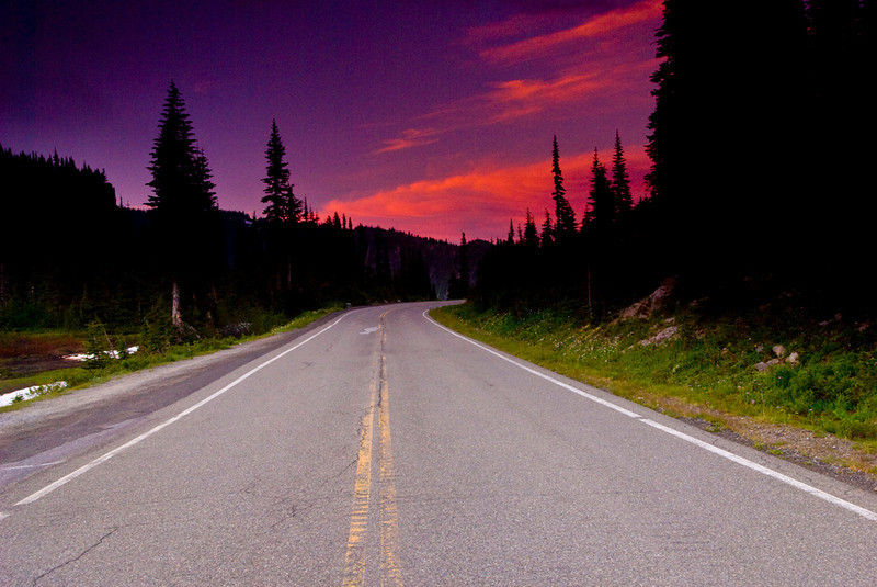 The Road Ahead Beckons - Mt. Rainer National Park, Washington - John Remy - July 2008