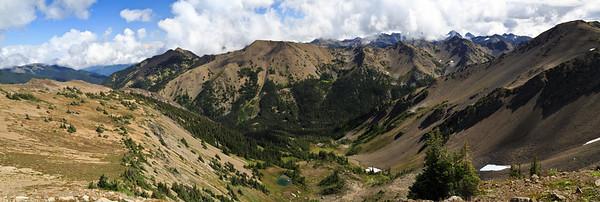 Lillian Ridge Trail, Obstruction Point
