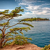 The Wil to Live.  View of Tatoosh Island from Cape Flattery