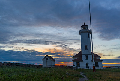 Point Wilson Lighthouse at Sunrise