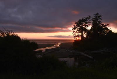 Kalaloch Lodge - sunset night 2