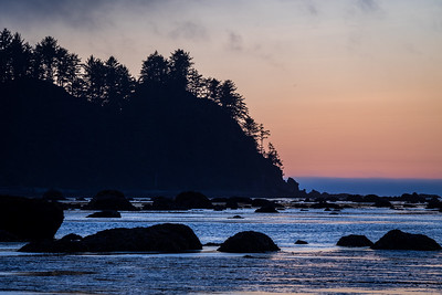 Ozette Beach at Olympic National Park