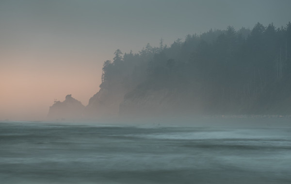 Sunset at Beach 4, Olympic National Park