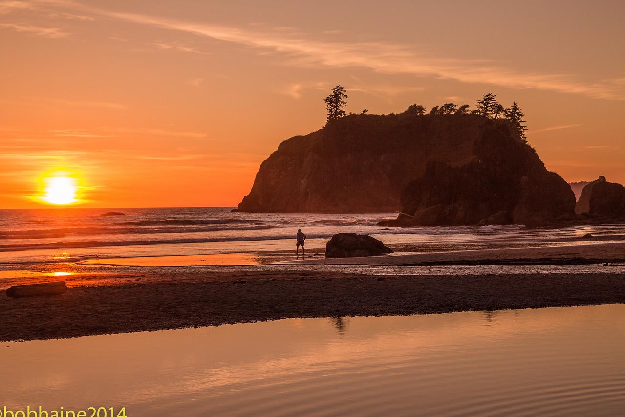 Sunset, La Push