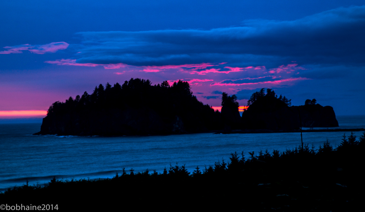 Sunset, La Push