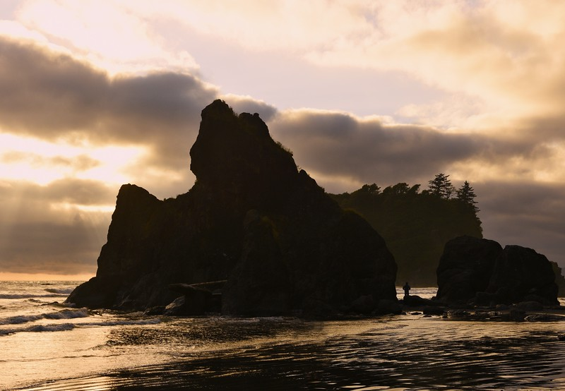 Olympic Ruby Beach Sunset1