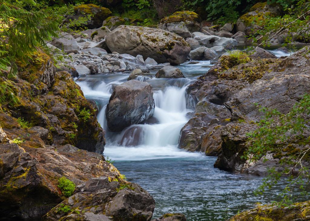 Sol Duc River / Salmon Cascades